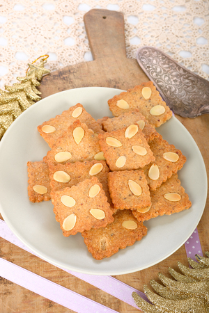 pepernoot: Speculoos cookies