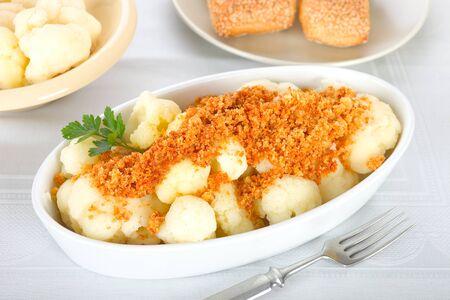 breadcrumbs: Cauliflower With Breadcrumbs
