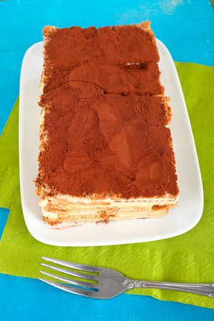 layered: Layered cake