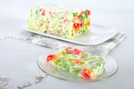 jello: Jello dessert Stock Photo