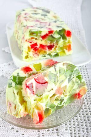 jello: Broken glass jello dessert