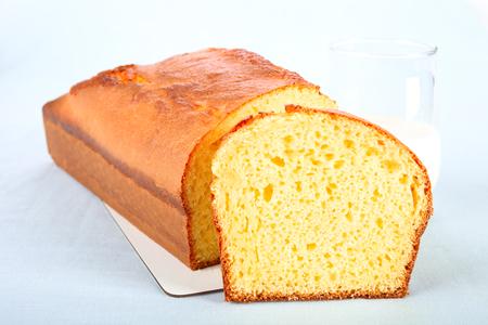 Homemade pond cake.