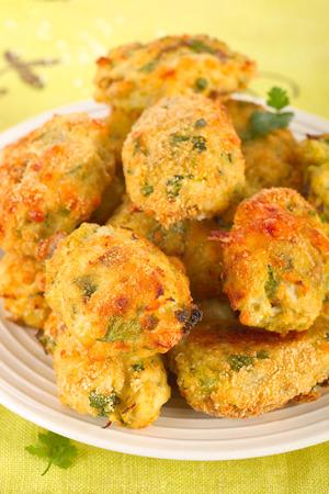 nuggets: Cauliflower nuggets