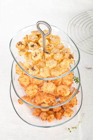 galletas integrales: galletas de queso