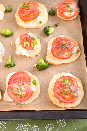 baked: Baked vegetable