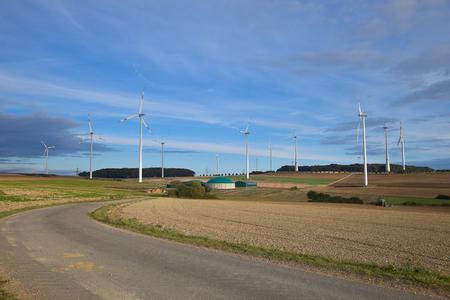 fermenters: Windmill in Germany