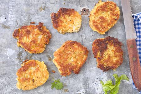 vegetarian hamburger: Patties