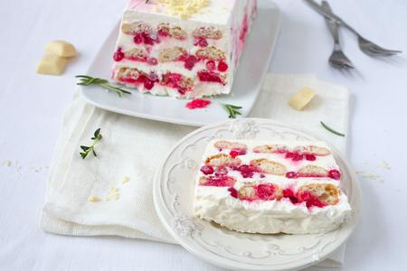 Berry semifreddo dessert Banque d'images - 95627867