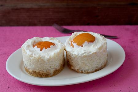 Apricot milk rice cakes