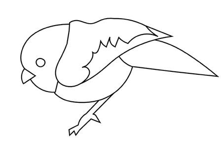 rúdon ülés: Kis ült Bird vázlat Illusztráció