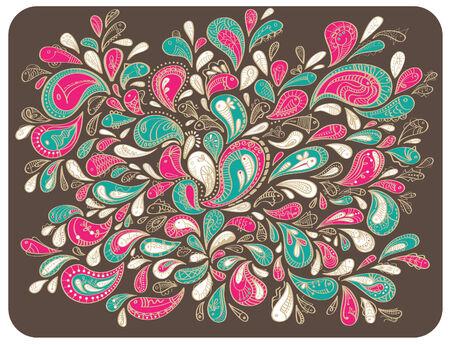 batik: Dessin Batik Fleur Illustration