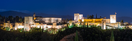 Alhambra in the blue hour