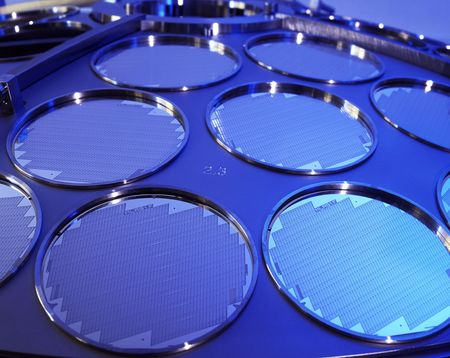 SI Wafer during production