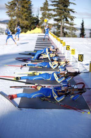 deportes olimpicos: Formación de athlets Olímpico para los juegos de olymic en Vancouver 2010