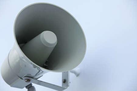 Megafoon op een schip voor aankondigingen Stockfoto - 12686419