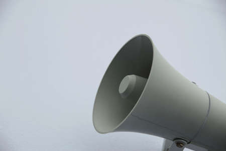 megaphone on a ship for announcements Imagens