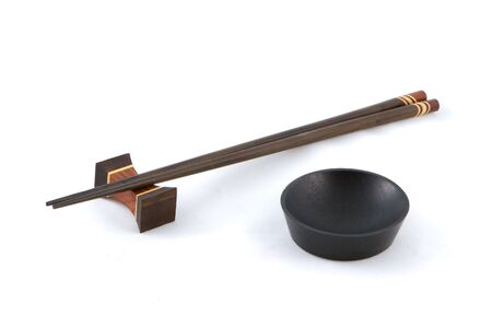 hashi: A set of chopsticks and a bowl