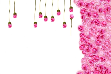 vintages: Flower backgrounds , roses for chandelier, creative Stock Photo