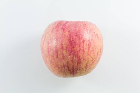 Apple in Isolate Background Stock Photo