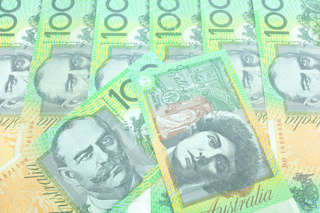 australian dollar notes: Australia dollar, bank note of Australia.
