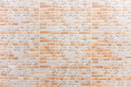 synthetic: Synthetic wall brick for interior texture and background.