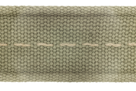 stitch: Fabric texture and Stitch line on isolated background.