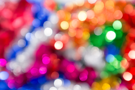blurr: Blurred light from christmas tree for background.