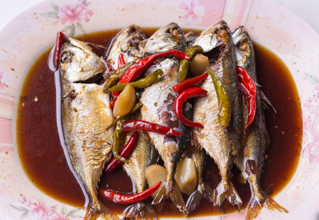 protein source: Mackerel is source of protein and omega 3 good for health.
