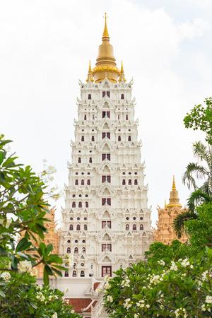 bodhgaya: Bodhgaya temple with copy space.