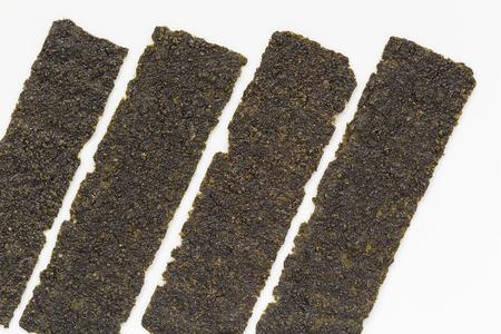 sea weed: Sea weed on isolated background. Stock Photo