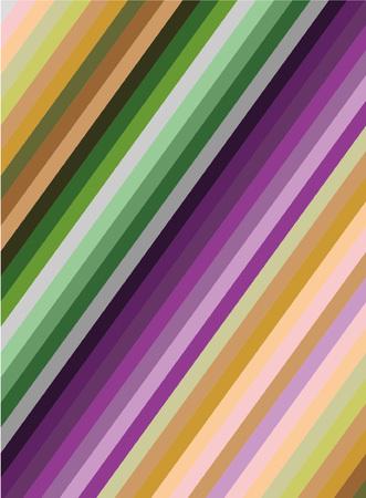 Lines violet and green pattern vector illustration. Ilustração