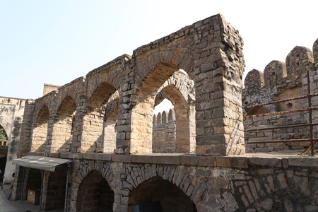 golkonda fort hyderabad
