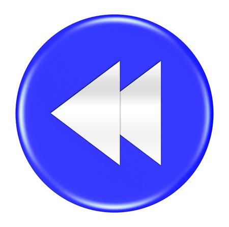 previous: previous button isolated Stock Photo