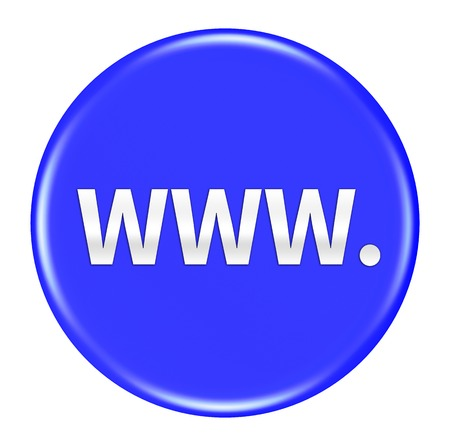 www: www button isolated Stock Photo