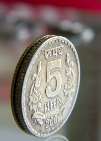 Five Rupee Coin - India