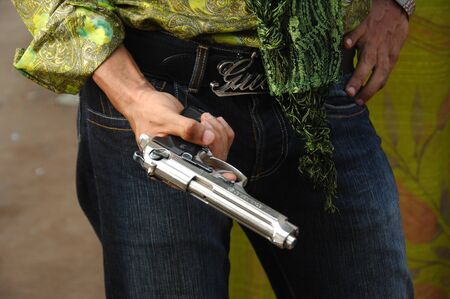 Close up of Revolver