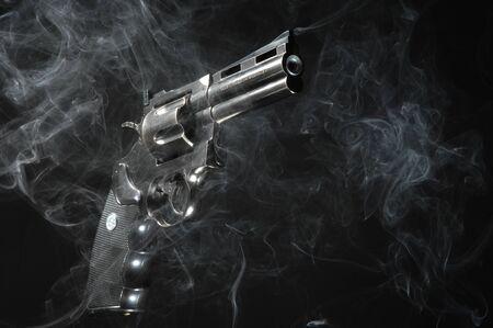 Close up of Revolver