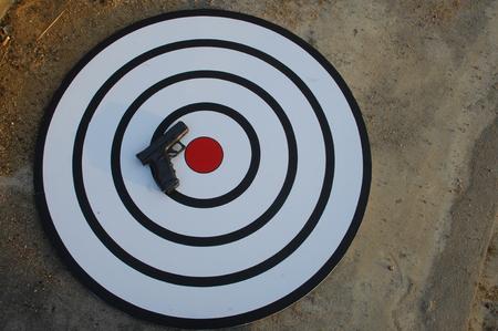close range: Guns close up