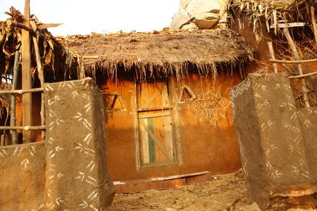 Rural village poor house