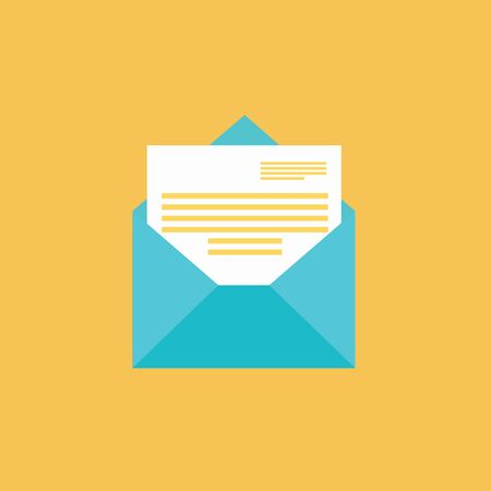 Email message concept. New, incoming message, sms. letter. Delivery of messages, sms. Mail notification, sending messages. Get mail chat message Coming messages
