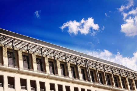 achitectural: modern achitectural building