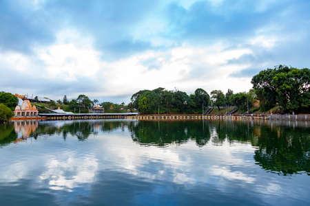 Ganga Talao the sacred lake of Grand Bassin, Mauritius