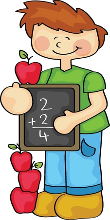 hand writing: Counting is Fun Illustration