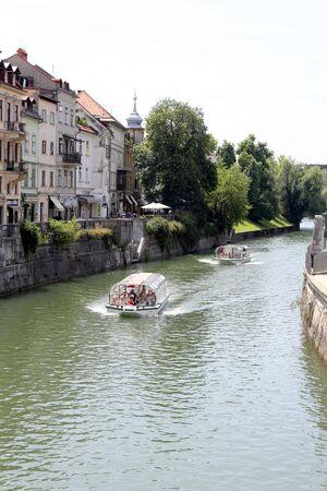 ljubljana: Banks of river Ljubljanica, Ljubljana, 2