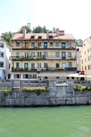 ljubljana: Banks of river Ljubljanica, Ljubljana 3