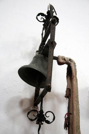church bell: Little church bell, St. Leonards church, Kotari, Croatia, Europe