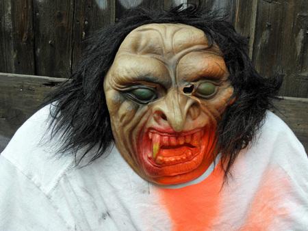 creep: Scarry monster,fancy Halloweens art instalation,Zagreb 2015.,Croatia,Europe,5