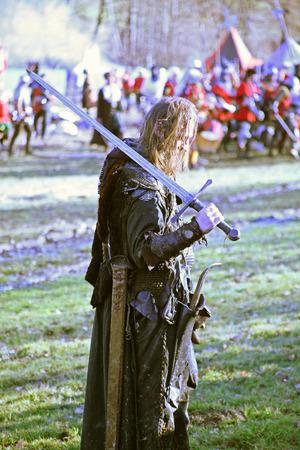revolt: Peasants revolt a.d. 1573., reenactment of the final battle, 2, Donja Stubica, Hrvatsko zagorje, Croatia, Europe, 2016.
