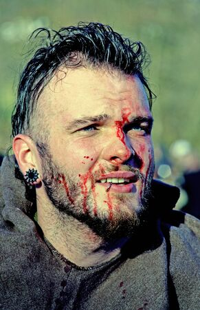 revolt: Peasants revolt a.d. 1573., reenactment of the final battle, 4, Donja Stubica, Hrvatsko zagorje, Croatia, Europe, 2016. Editorial