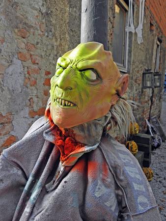 creep: Halloweens fancy art instalation,Zagreb,28